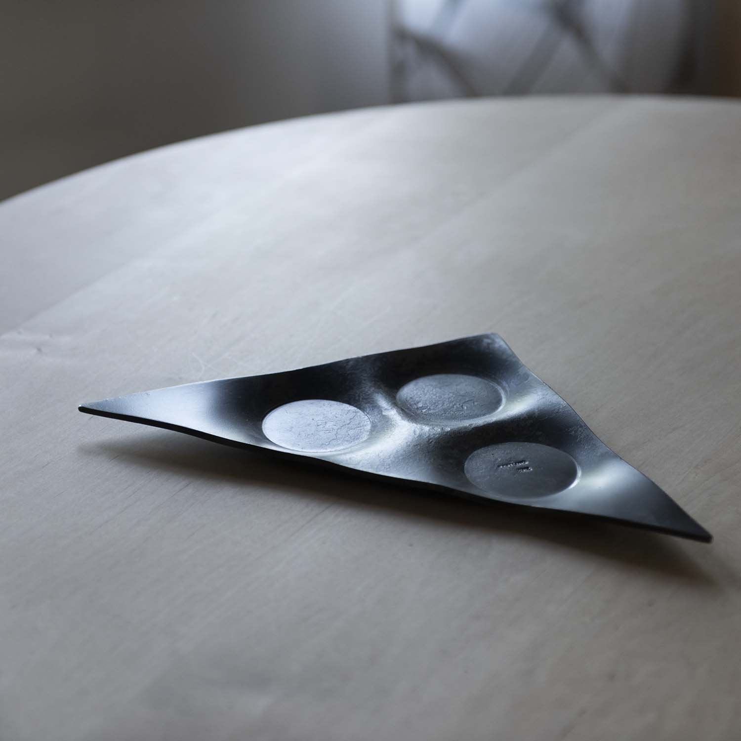 Iron Candle Plate Square