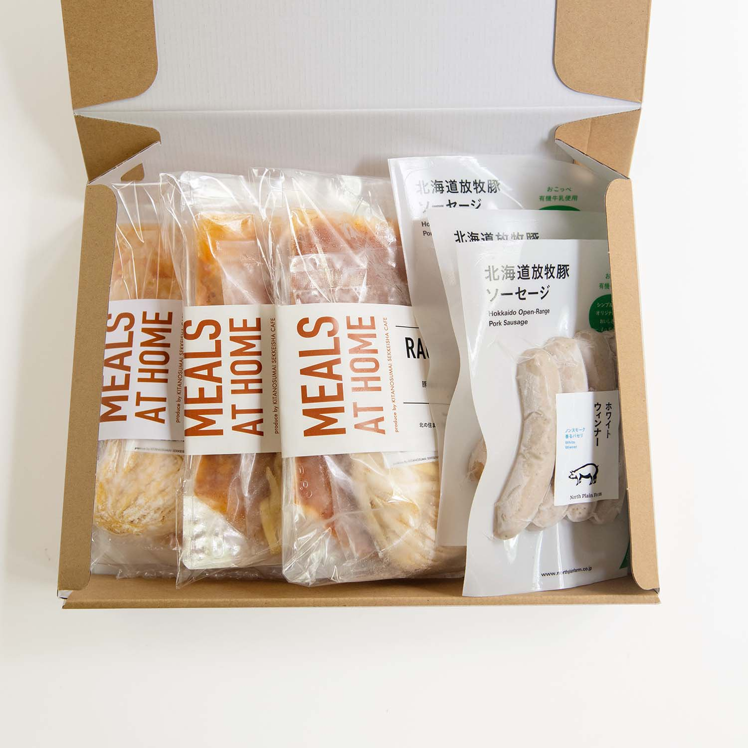 MEALS AT HOME GIFT SET C<br> パスタセットとソーセージのセット