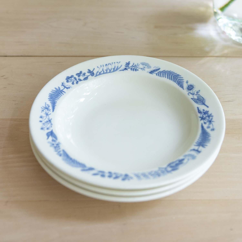 Stig Lindberg Medicinalväxter Soup Plate20cm blue