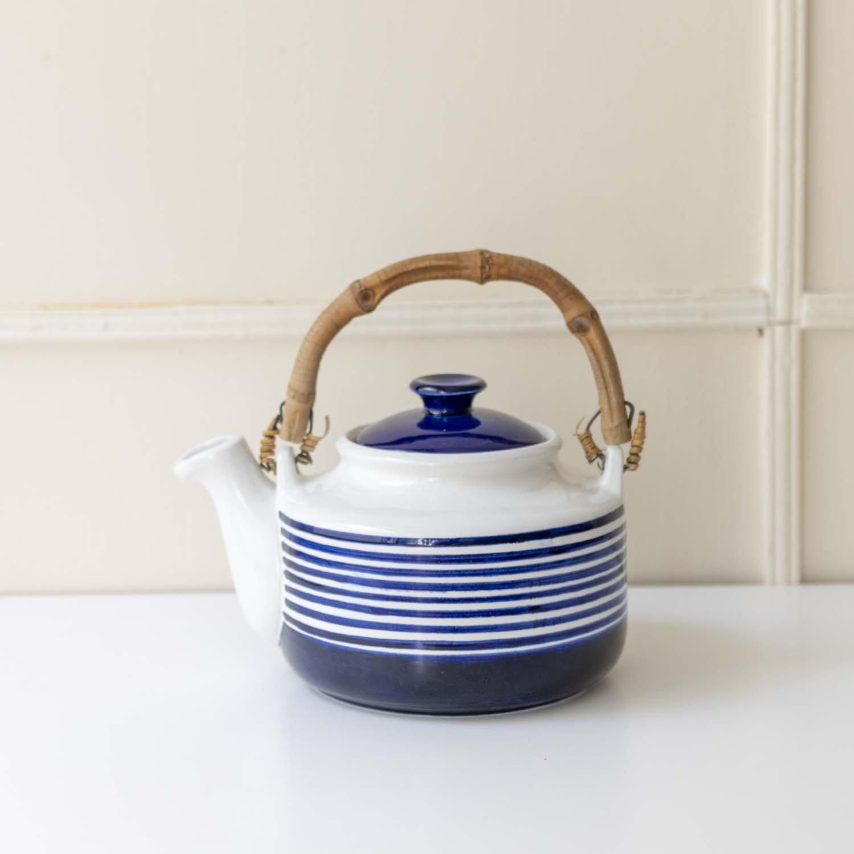 Karin Bjorquist 'Kobolt' Tea Pot