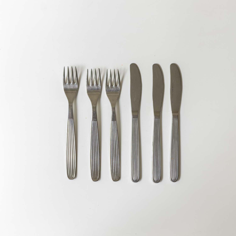 Kaj Frank 'Scandia' Dinner Fork & Knife