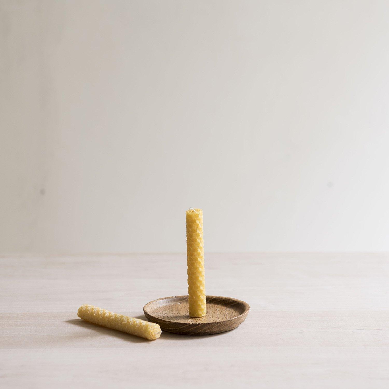 蜜蝋キャンドル honeycomb φ10×h100mm