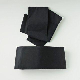 黒朱子帯(マジック式結び帯)