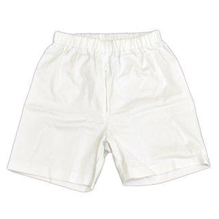 短パンツ(綿ストレッチ/ファスナーつき)