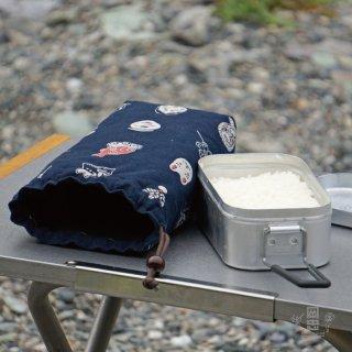 キャンプ好きスタッフいちおしの『メスティンケース』(レギュラーサイズ)お祭り柄 ※ネコポス対応