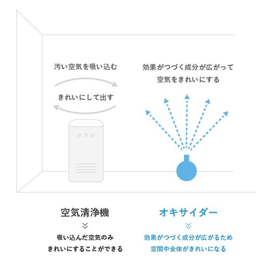 空間除菌剤 OXIDER(オキサイダー)  180g商品画像2