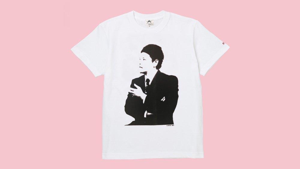 Mr.都市伝説 関暁夫Tシャツ(関さんが背中にサインを書いてくれます)
