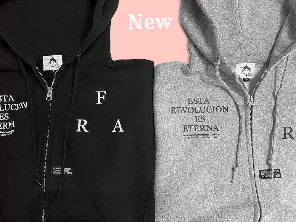 FRA革命ジップパーカー