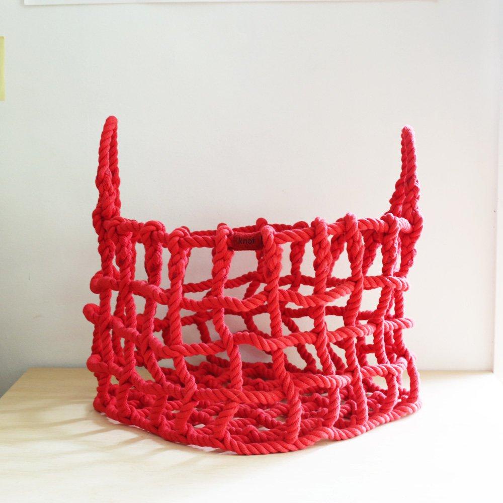 shigeki fujishiro knot(L)<br />藤城成貴  ロープのカゴL