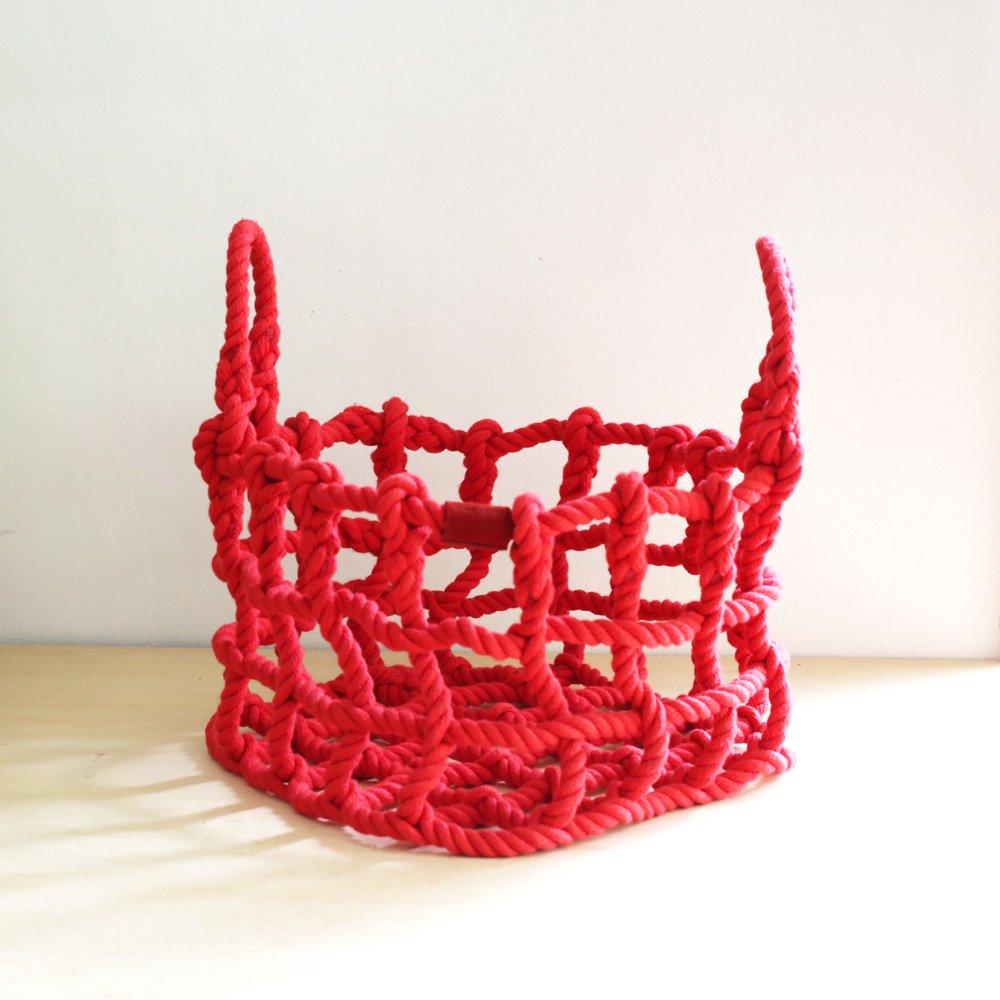 shigeki fujishiro knot(S)<br />藤城成貴  ロープのカゴS