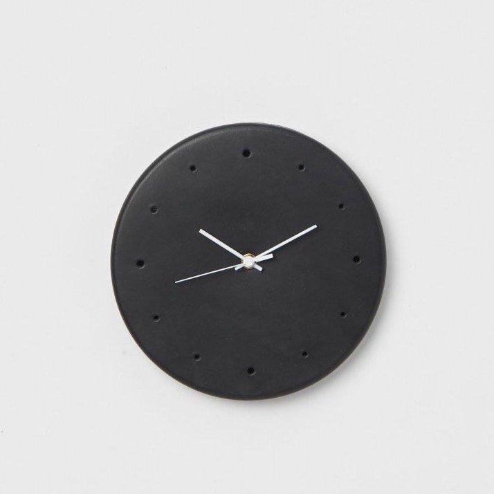 Hender Scheme  <br />clock<br />[ Natural / Black ]