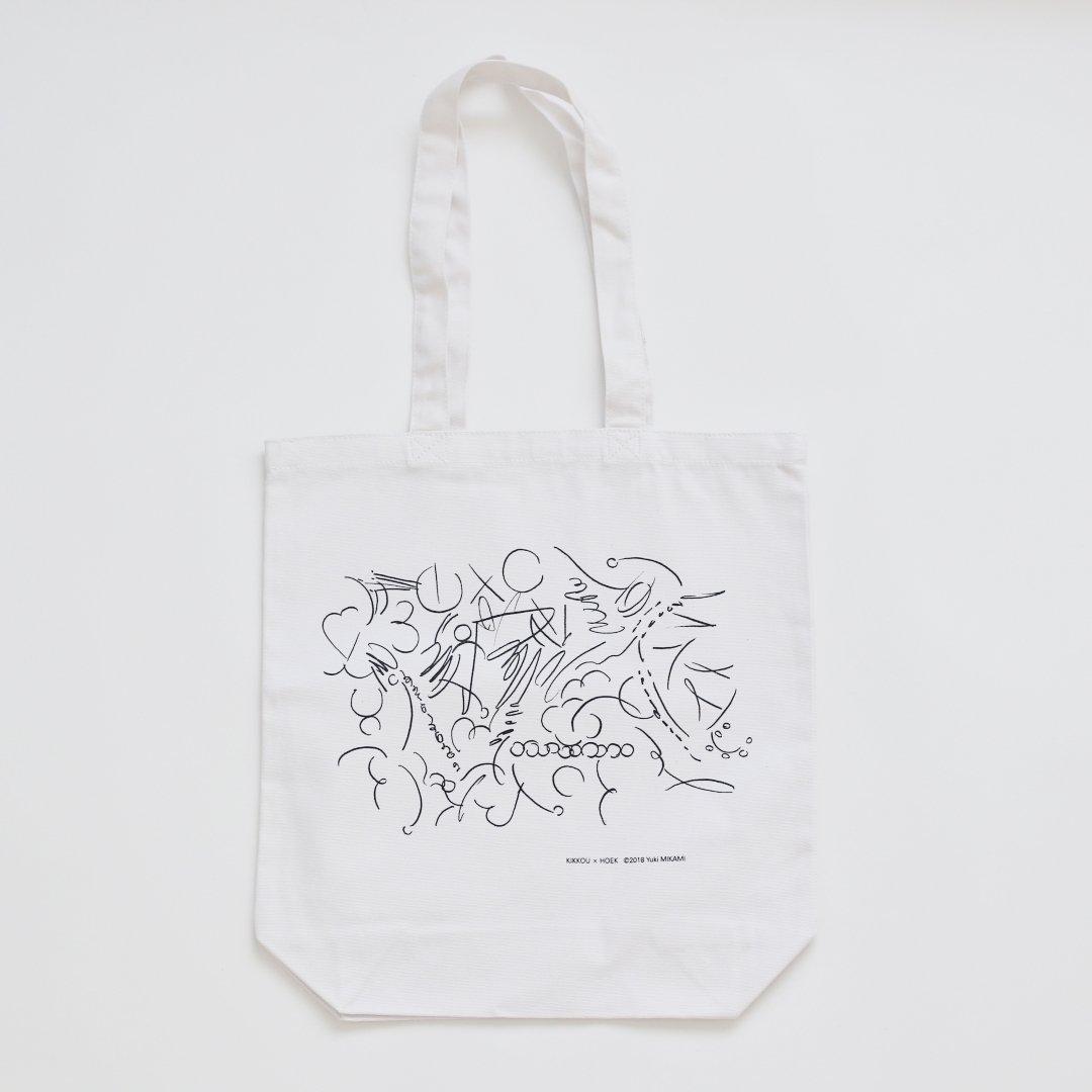 Yuki MIKAMI × KIKKOU × HOEK <br />TOTE BAG [02]