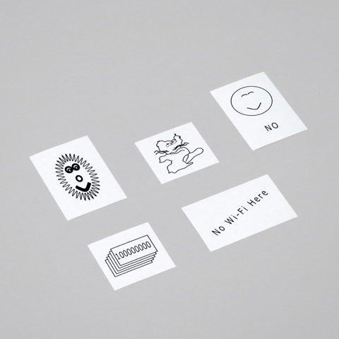 平山昌尚(HIMAA)<br />シール5枚セット [7900]