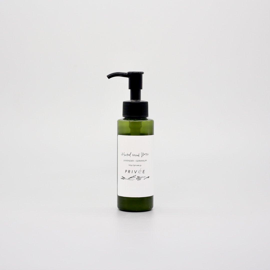 PRIVeE <br /> Herbal Hand Water  [ 100ml ]