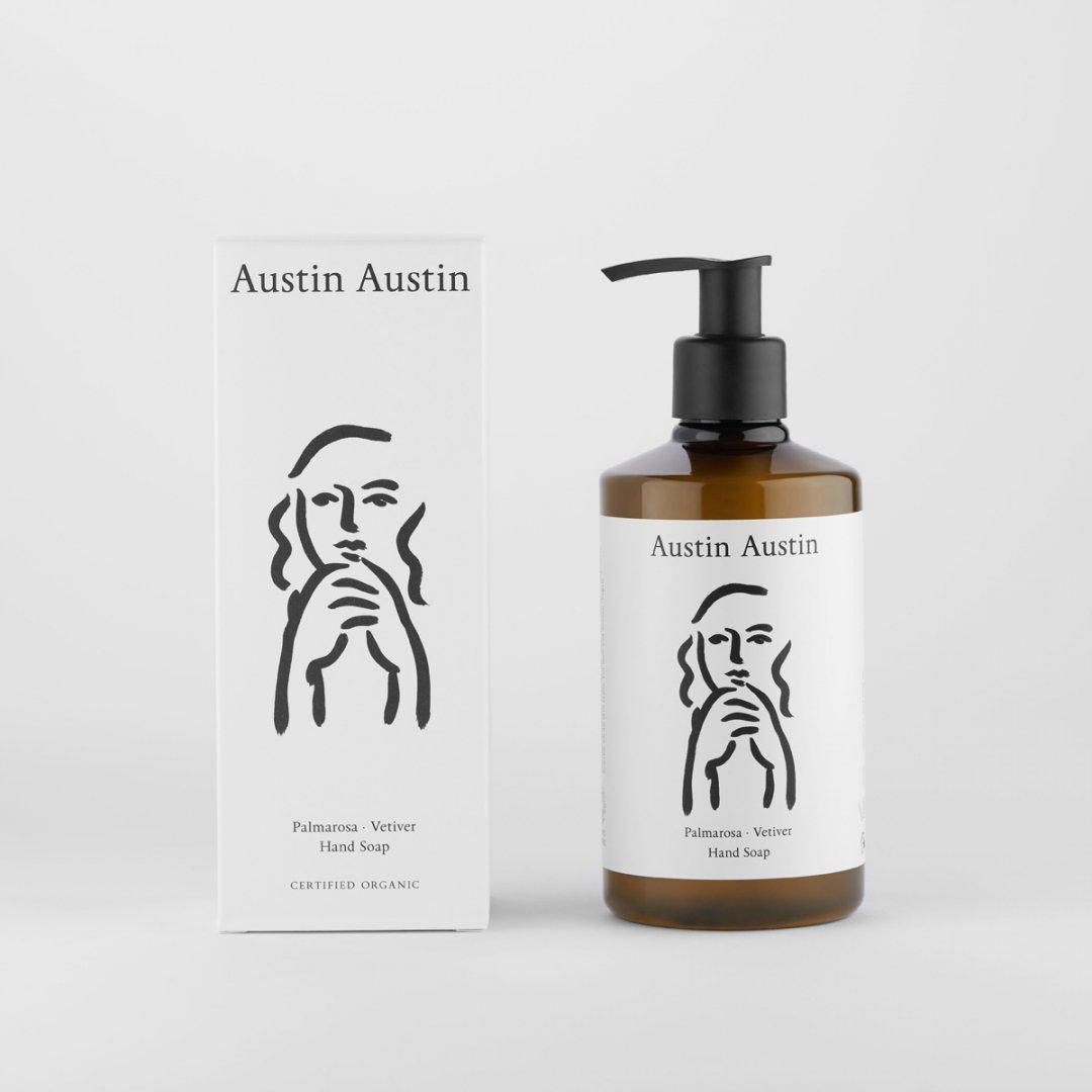 Austin Austin<br />hand soap 300ml<br />[palmarosa & vetiver]