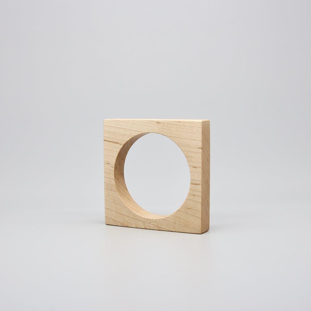 _Fot<br />ウッドバングル(square)