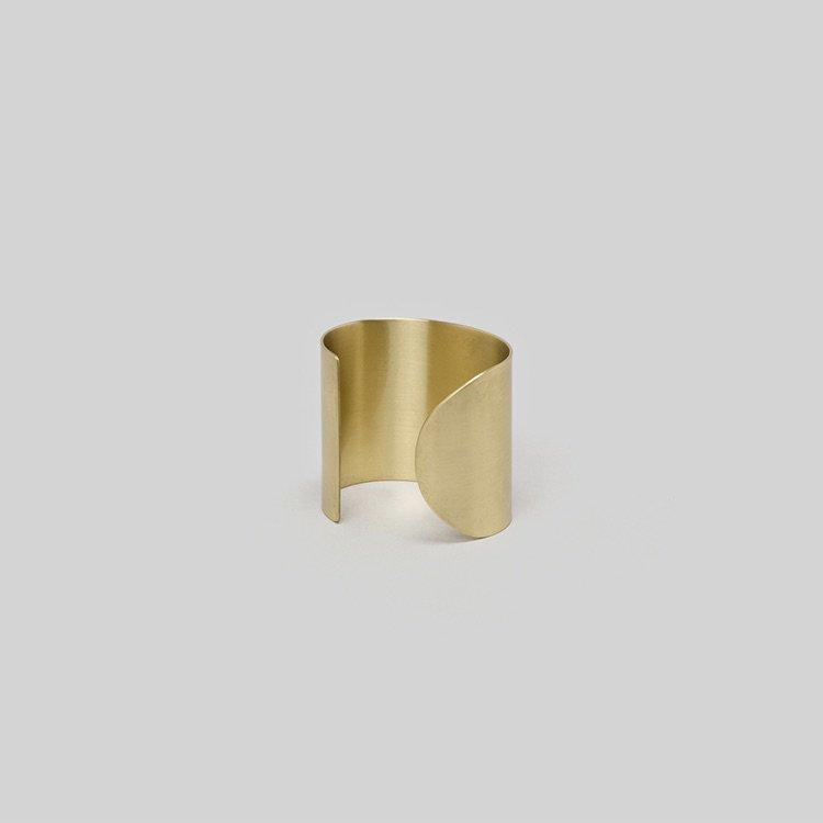 _Fot<br />plate bangle 50mm_ circle ○