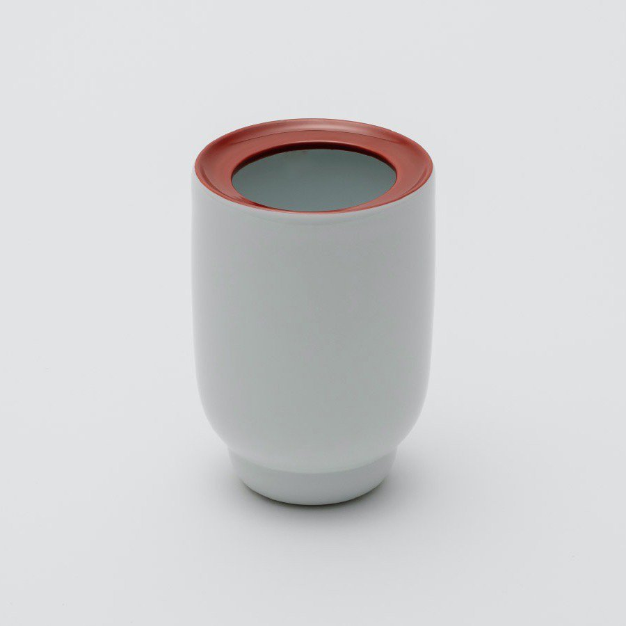 2016/「Pauline Deltour」<br />Flower Vase(Red / White)