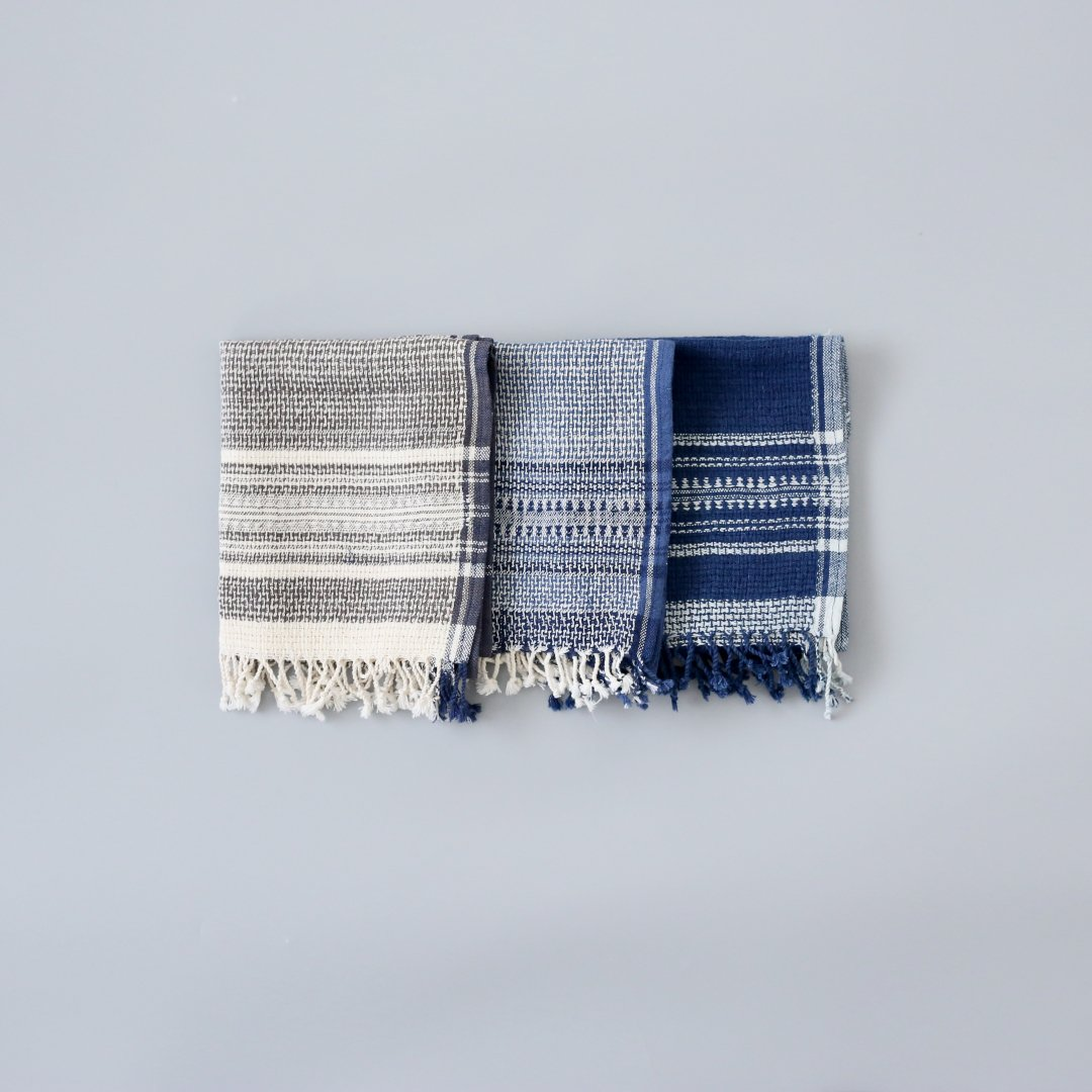 Suno & Morrison<br />Organic Khadi Basket Face Towels