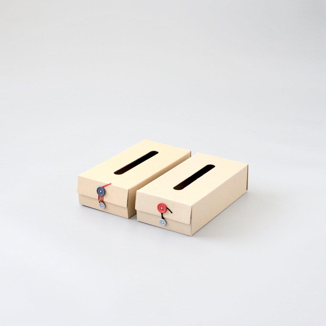 Button Tissue Box<br />ボタンティッシュボックス(A)