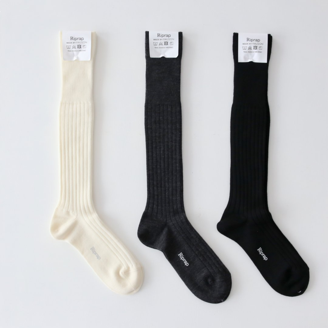 Riprap<br />Nz MERINO LONG HOSE SOCKS