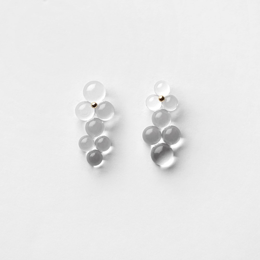 bubun<br />〈organ〉#3S earrings