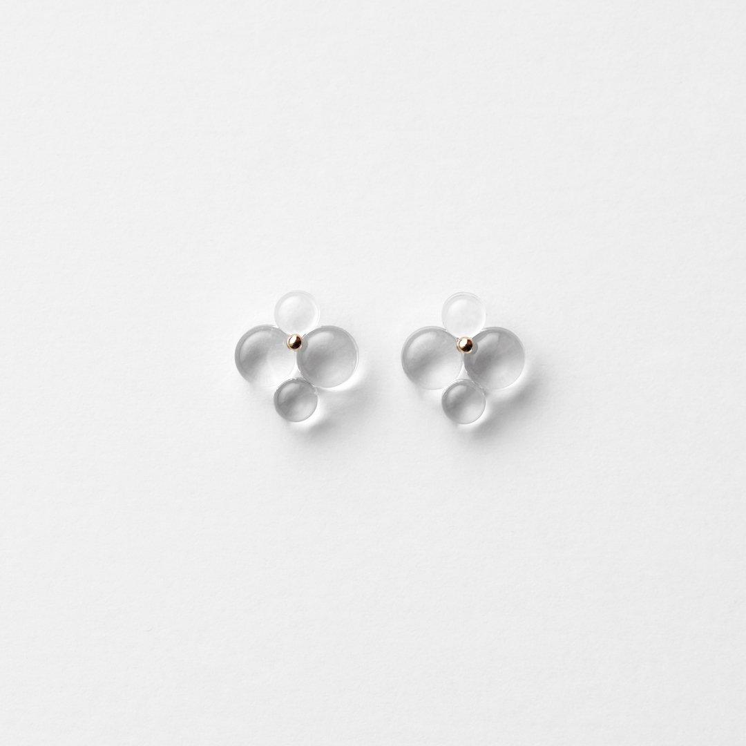 bubun<br />〈organ〉#6 earrings