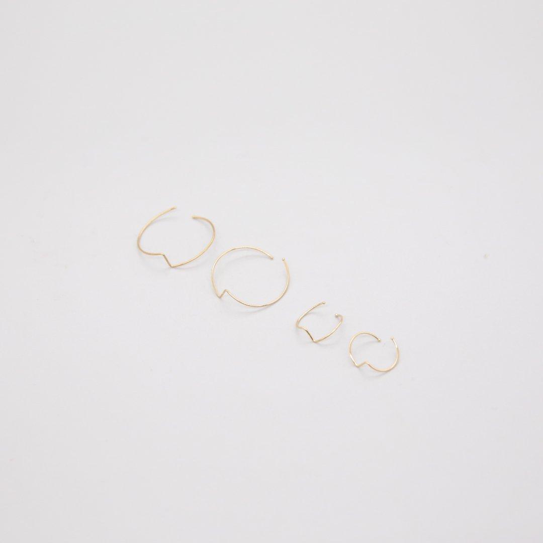 Kathleen Whitaker<br />Moon Earrings