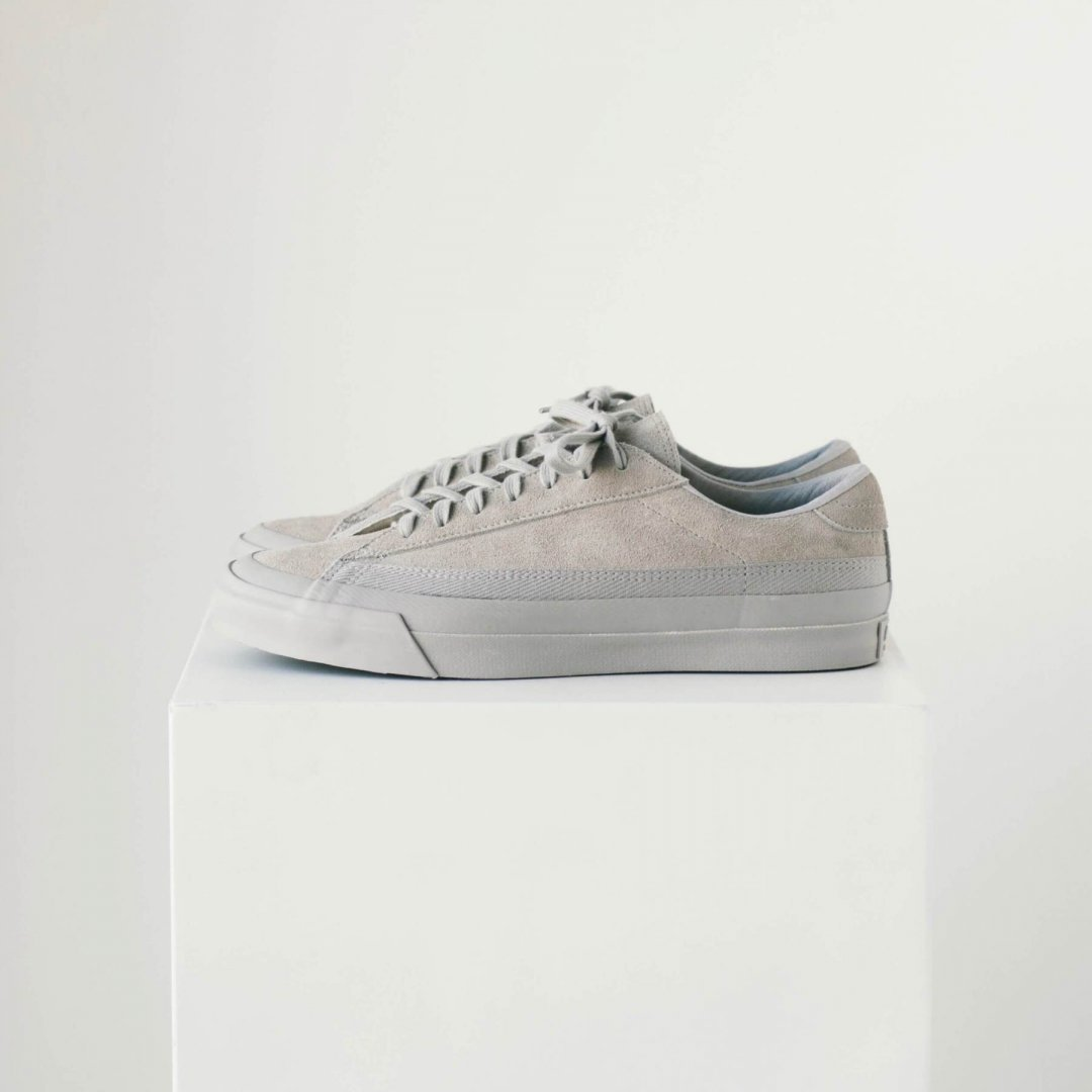 ASAHI<br />BELTED LOW SUEDE [ GRAY/GRAY ]
