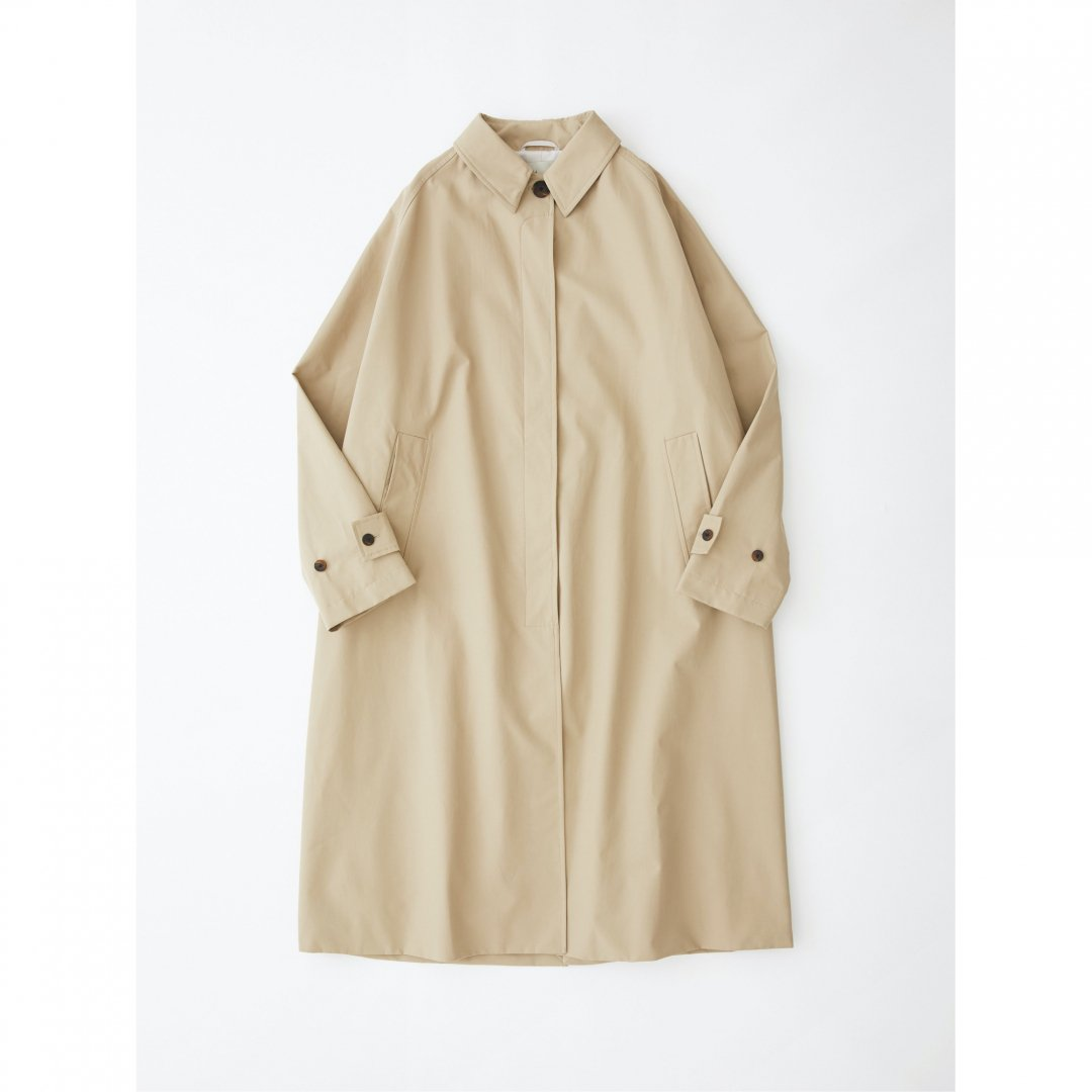 STUDIO NICHOLSON<br />Holin Mac Coat In Tan