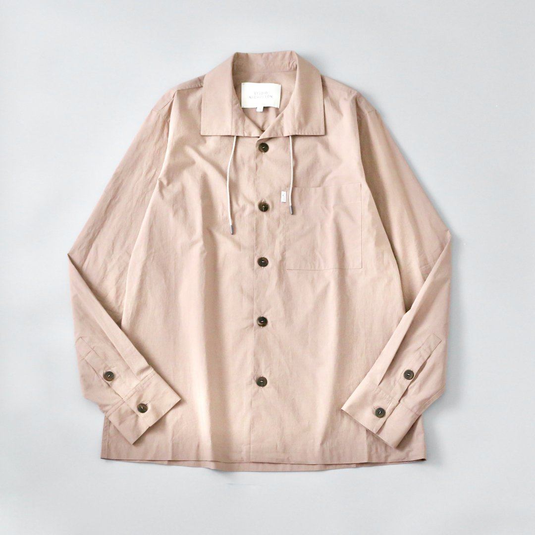 STUDIO NICHOLSON<br />LINCOLN SHIRT IN CLAY