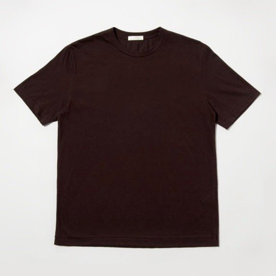 niuhans<br /> Cotton Cashmere Soft Brushed S/S Tee