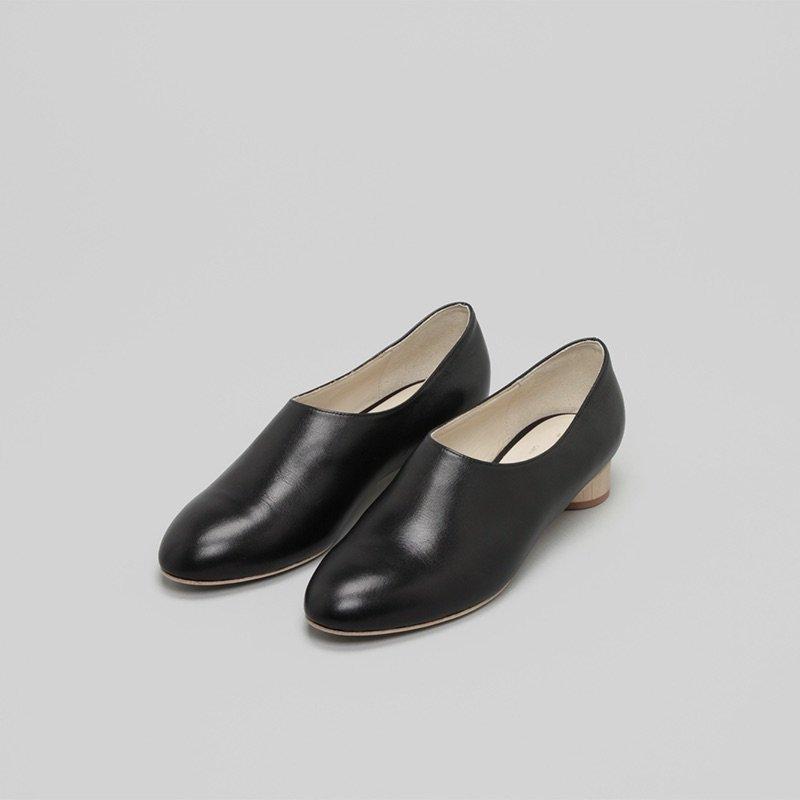 _Fot<br />wood heel 25 _ circle 〇(maple)