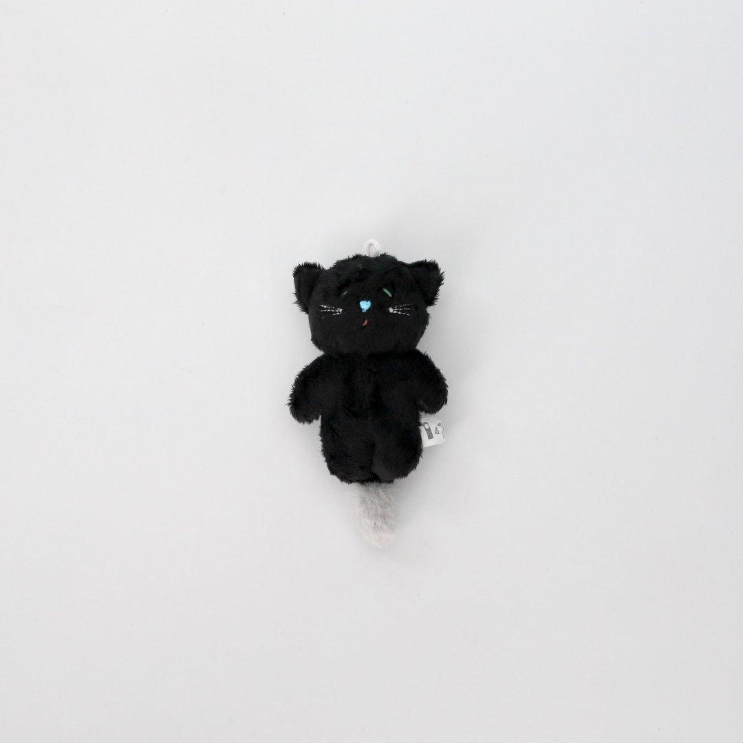 DO Original<br />そぼろのぬいぐるみバッグチャーム(黒猫)