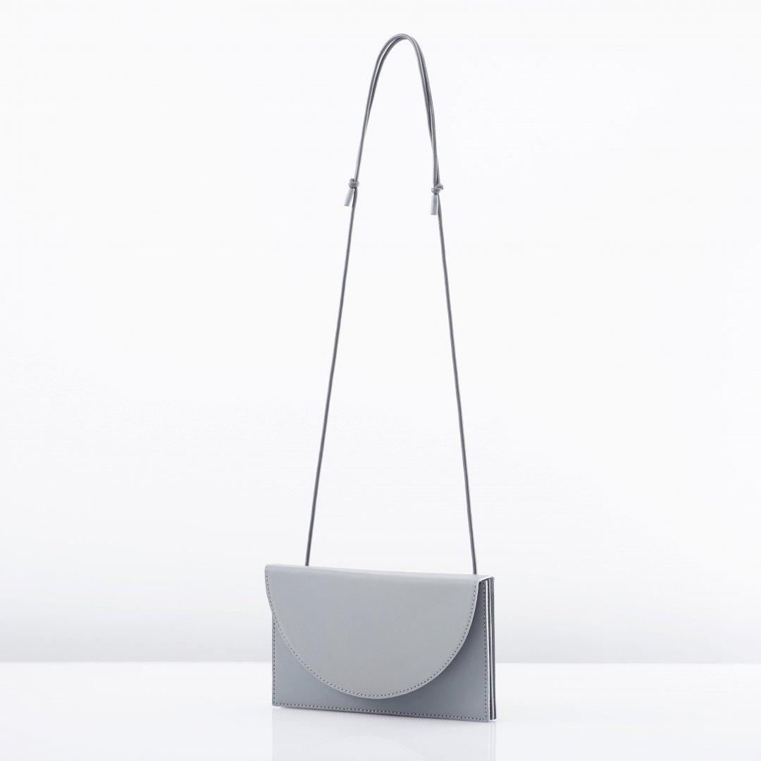 ke shi ki<br />Long wallet shoulder (2color)