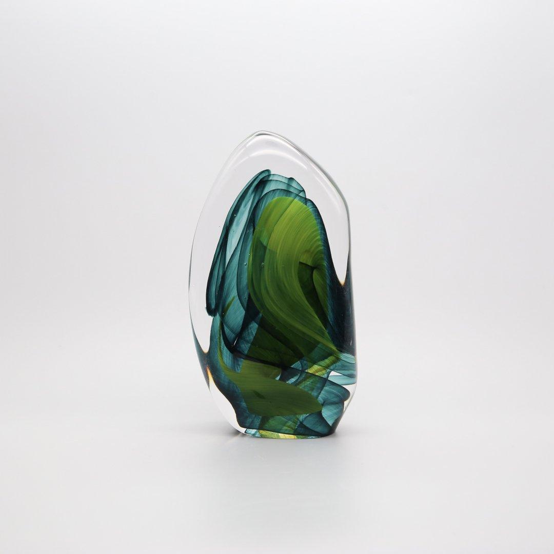 FLASKA<br />ガラスの塊(Green)
