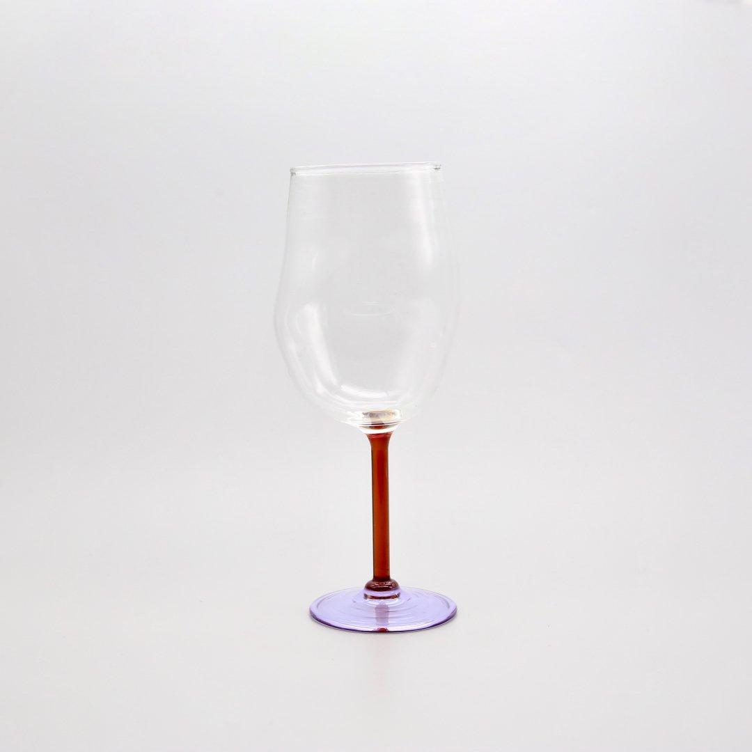 Jochen Holz<br />Wine glass(Red×Purple)