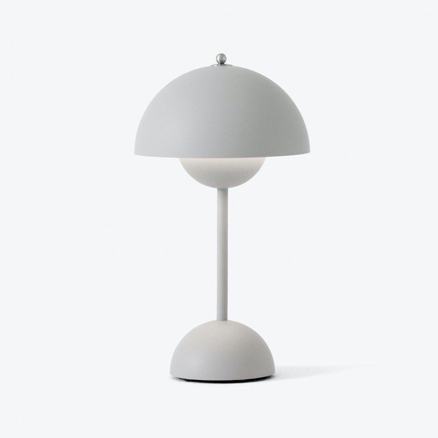 FLOWERPOT POTABLE TABLE LAMP VP9<br />Verner Panton