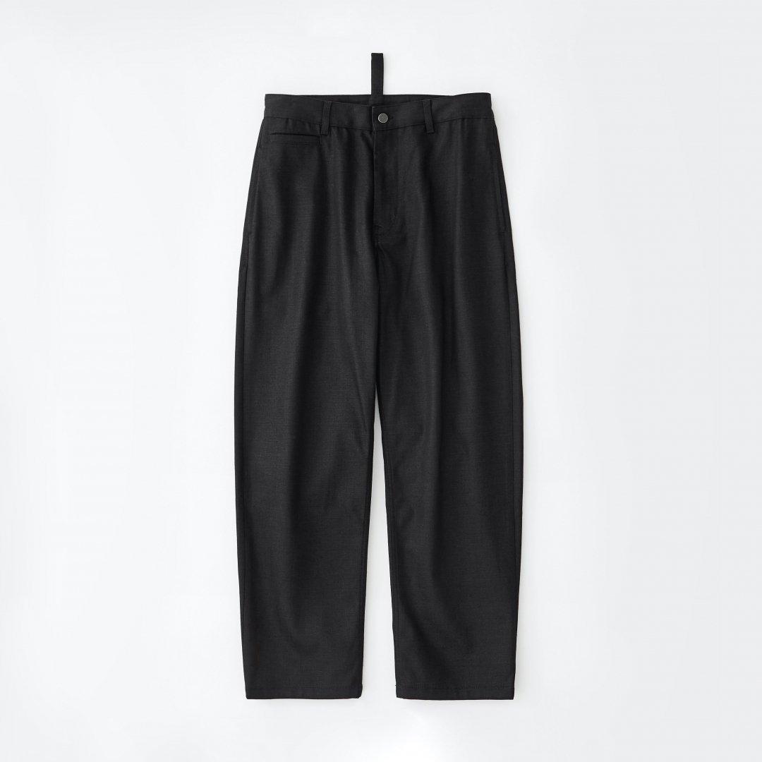 STUDIO NICHOLSON<br />BILL DENIM PANTS IN BLACK