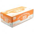 No.300 エンゼルラテックスグローブ(粉付)M 100枚 サンフラワー ラテックス手袋