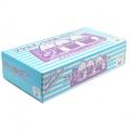 メディテックジャパン プラスチック手袋 NEXT ブルー 粉なし M 100枚 食品衛生法・新規格基準合格品