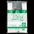 フジバッグ 弁当バッグ 小 厚み0.015mm 白 100枚 レジ袋 ランチバッグ ポリ袋
