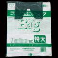 フジバッグ 弁当バッグ 特大 厚み0.02mm 白 100枚 レジ袋 ランチバッグ ポリ袋