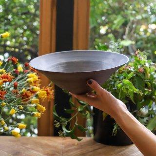 二階堂明弘:No.16 錆器 リム鉢