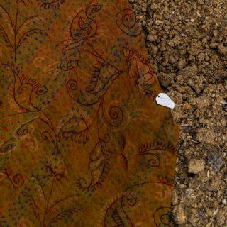 WONDER FULL LIFE:BOTANICAL BAG / KANTHA No.14 (small)