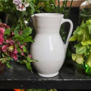 【全国配送】白い花瓶(単品 / 再入荷)