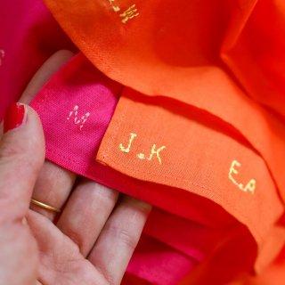 THE LITTLE GIFT OF FLOWERS 刺繍サービス(追加購入)