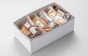 5色味噌セット(400g×5個)箱入り