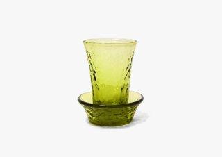 仙台ガラス グラス&小皿