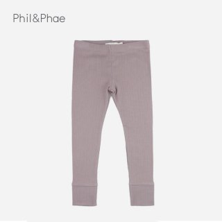 【50%OFF】 Phil&Phae | RIB LEGGINGS | HEZEGREY |  18mのみ